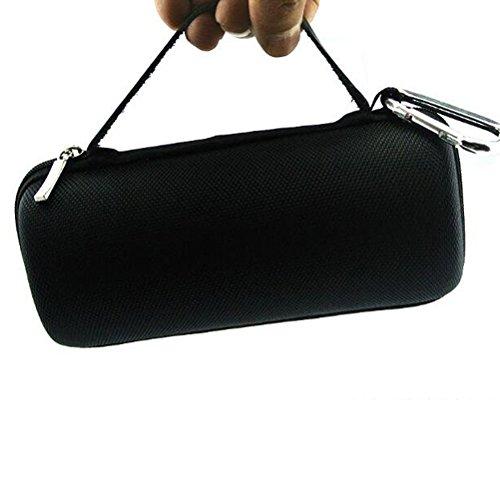 taiyaun Bluetooth-Lautsprecher Aufbewahrungsbox Tasche für Sound Box EVA Schutzhülle (mit Single Schultergürtel), FLIPS 3 ,Black