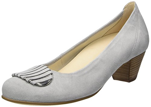 Gabor Shoes Comfort, Scarpe con Tacco Donna Grigio (light grey 40)