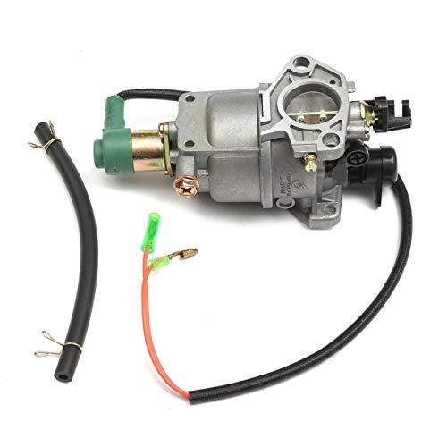 Elviray Tragbarer vergaser mit 158mm ölleitung für Generator Motor für für Honda gx240 8hp gx270 9hp gx340 11hp gx390 13hp (Gx390 Motor)