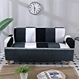 KITCHY Solid Color Stretch Sofa Cover Corner Slipcovers Sectional Elastic Furniture Couch Protector Seat Case Living Room Home Decor: 19, Two-Seater Amazon Rs. 11710.00