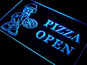 Enseigne Lumineuse s127-b Pizza OPEN Shop Cafe Store Neon Light Sign