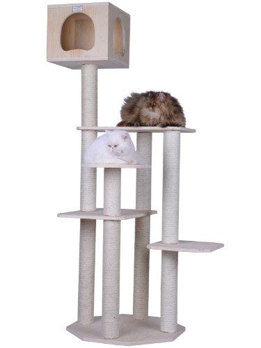 ARMARKAT Kratzbaum aus Holz von 116 cm bis 262 cm