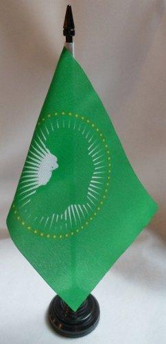Kostüm Dramen Top - TOP BRAND 12Stück afrikanischen Union 10,2x 15,2cm Tisch Flaggen mit Sticks & Grundlagen