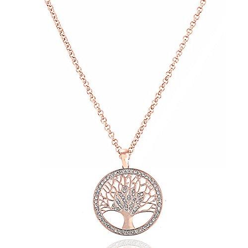 akki Albero della vita gioielli collana d' argento, usato usato  Spedito ovunque in Italia