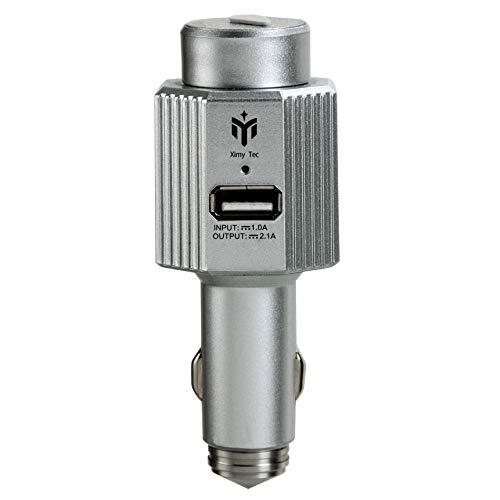 Purificador de Ionizador de Aire para Automóvil USB Multifuncional, Cargador de Automóvil USB 2.1...