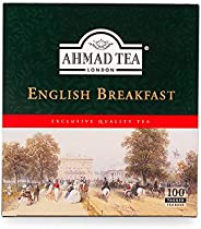 Ahmad Tea English Breakfast, 200 Gramos, 100 Tea Bags