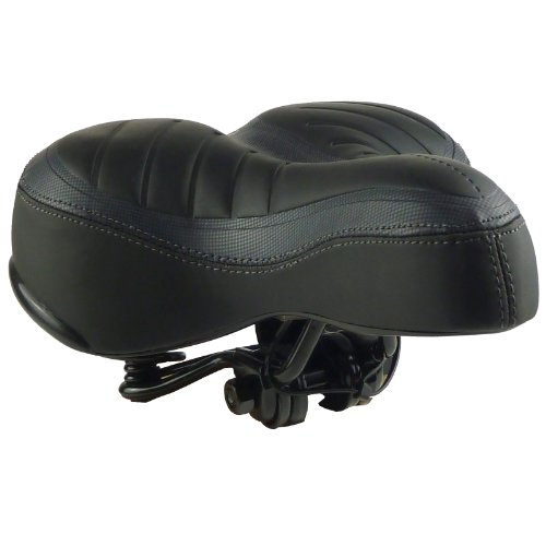Bicycle Saddle - Unisex Sprung Comfort Bike Saddle (Pack of 1)