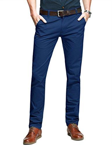match-mens-slim-tapered-flat-front-casual-trouserssapphire-bluew36-x-regular