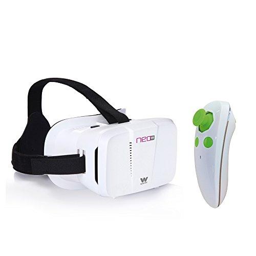 Woxter-Neo-VR1-Kit-gafas-de-realidad-virtual-3D-para-smartphone-con-mando-a-distancia-color-blanco