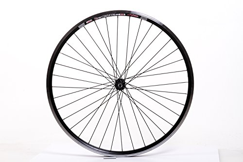 """28\"""" Zoll Fahrrad Laufrad Vorderrad Aluminium Felge 36Loch 622-19 V-Brake schwarz"""