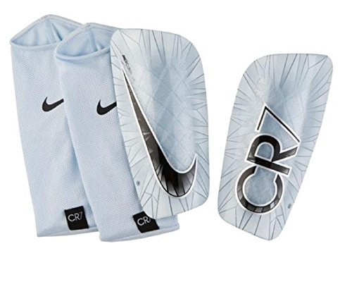 Nike Mercurial Lite CR7 Football shin Guard- Grey/Black (Large)  available at amazon for Rs.1795