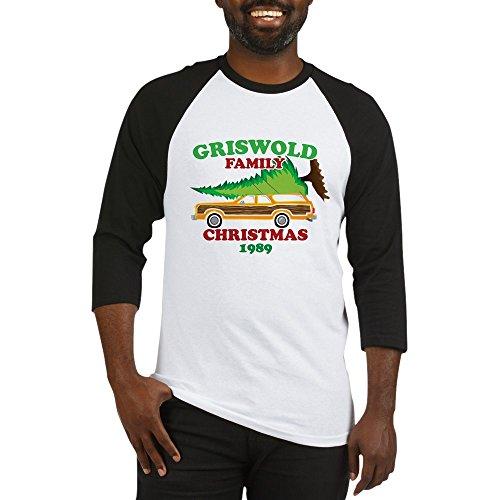 CafePress Griswold Family Christmas Funny Baseball Shirt