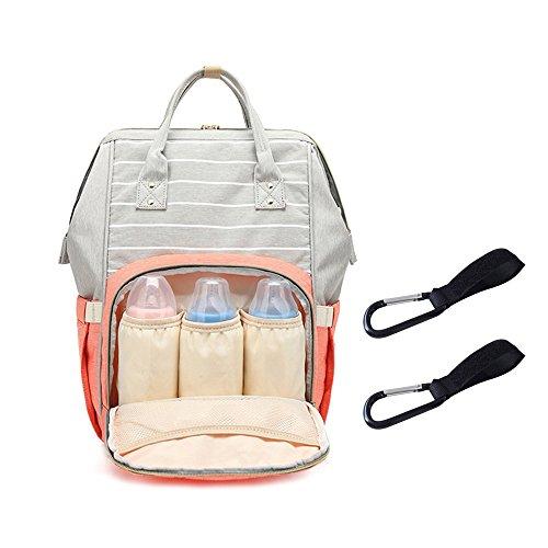 Zaini da Viaggio Mamma neonato Impermeabile e resistente ai graffi tessuto  Oxford 18 Pocket 200g Grande ... 80b18905161