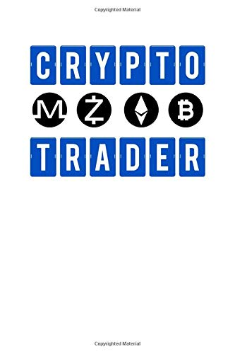 Crypto Trader: Blockchain Crypto Trader Bitcoin HODL Cryptocurrency Blank Composition Notebook for Journaling & Writing (120 Lined Pages, 6