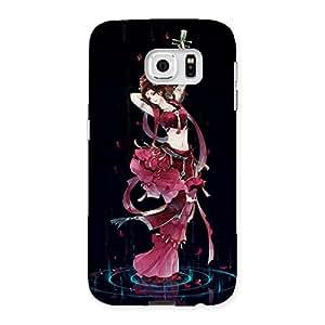 Premium Princess Pose Back Case Cover for Samsung Galaxy S6
