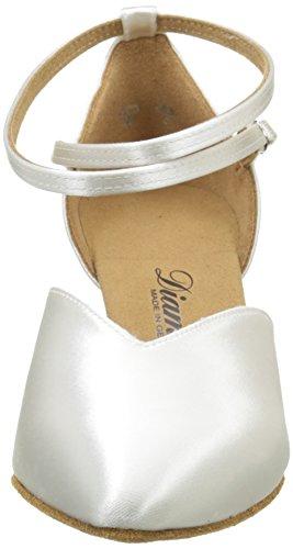 Diamant Diamant Standard 105-068-092 Damen Tanzschuhe - Standard & Latein, Damen Tanzschuhe - Standard & Latein, Weiß (Weiß), 40 2/3 EU (7 Damen UK) -
