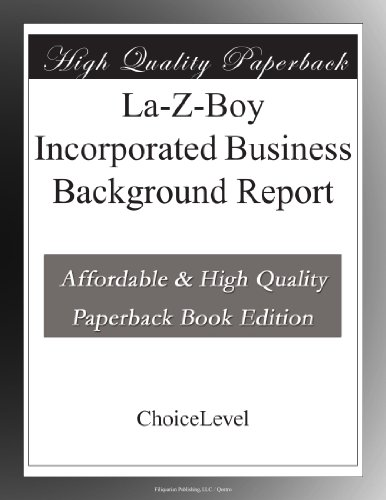 la-z-boy-incorporated-business-background-report