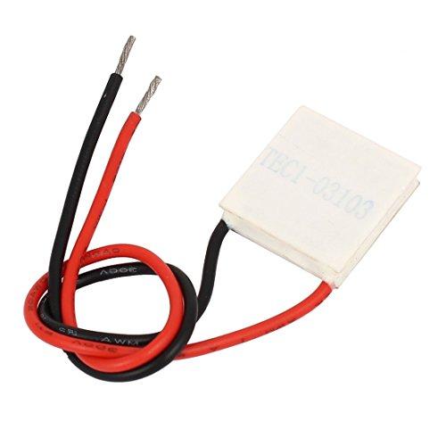 sourcingmap® TEC1-03103 3.66V 3A Thermoelektrische Kühlermodul Kühlung Peltierplatte