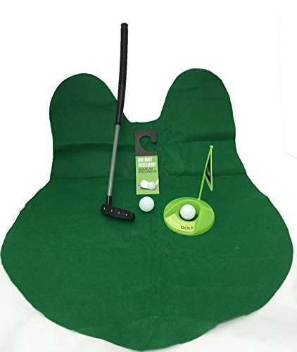Golf Potty Putter Putting Game - A