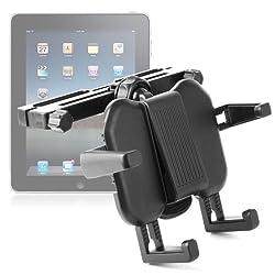 DURAGADGET vous présente ce support d'appuie tête pratique et facile à utiliser pour pour votre tablette tactile. IL vous permettra de regarder des films en voiture, ou bien de jouer à des jeux durant les longs trajets. Il sera parfait pour occuper v...