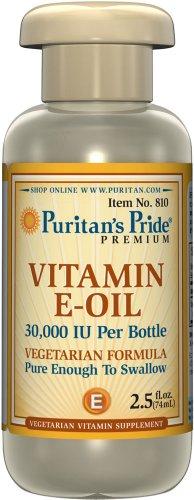 Preisvergleich Produktbild Puritan's Pride Vitamin E Öl 30000 IE (74 ml)