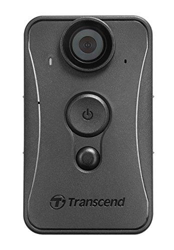 Transcend TS32GDPB20A Full HD Mini-Kamera, Wasserfest, 32GB Speicher schwarz