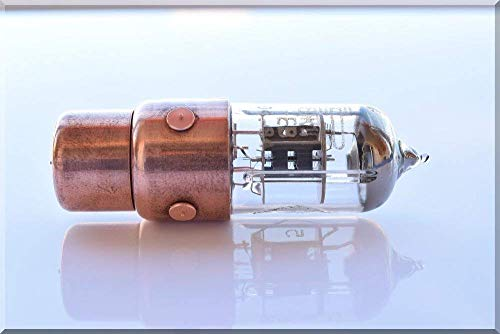 SlavaTech Handwerk 256GB GELB Pentode Radioröhre USB Flash Drive. Steampunk/Industrial Style (Usb Drive Pen 256 Gb)