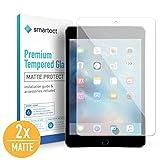 smartect Mattes Panzerglas für iPad Mini/Mini 2 / Mini 3 [2X MATT] - Bildschirmschutz mit 9H Härte - Blasenfreie Schutzfolie - Anti Fingerprint Panzerglasfolie