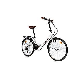 """Bicicletta Pieghevole Moma, Ruote da 24"""" Shimano. in Alluminio."""