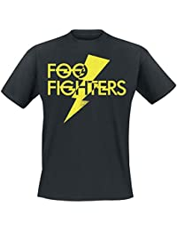 Foo Fighters Thunderbolt Logo T-shirt noir