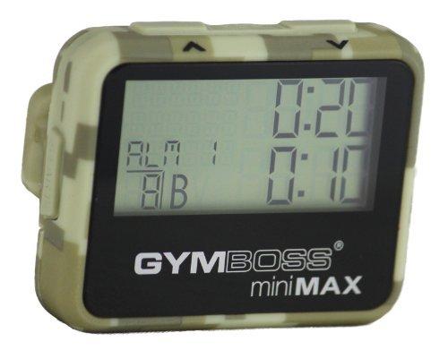 Gymboss miniMAX - Temporizador y cronómetro