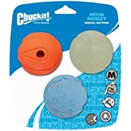 Chuckit! Fetch Medley 3 Unique Balls Medium Multicolor