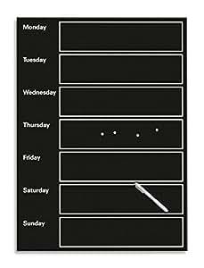 Amazon.de: Eurographics MBDT6097 Memo Board, Magnet und Schreibtafel aus Glas mit Wochenplaner, My