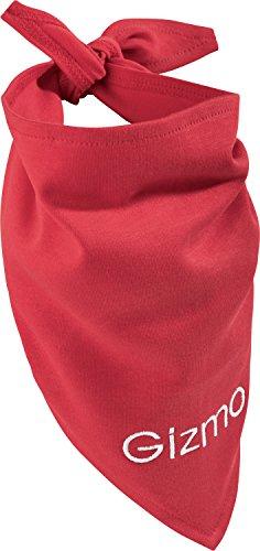 Unbekannt Hundehalstuch inkl. Bestickung rot