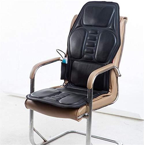 ELEGENCE-Z Heizkissen Auto Sitzbezug, Schwarz Körper Multifunktions Massage Auto Heizkissen Hause Auto Heizung Massage Kissen-122 * 52 * 5 cm -