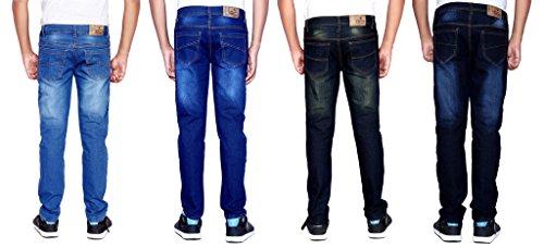 London-Looks-Mens-Slim-Fit-JeansCombo-Of-4