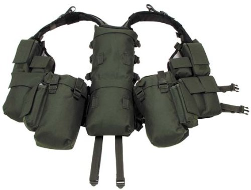 BW Paintball Tactical Weste oliv Oliv