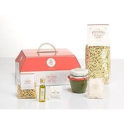 LA CENA LIGURE di My Cooking Box x5 porzioni trofiette al pesto - Idea regalo cesto