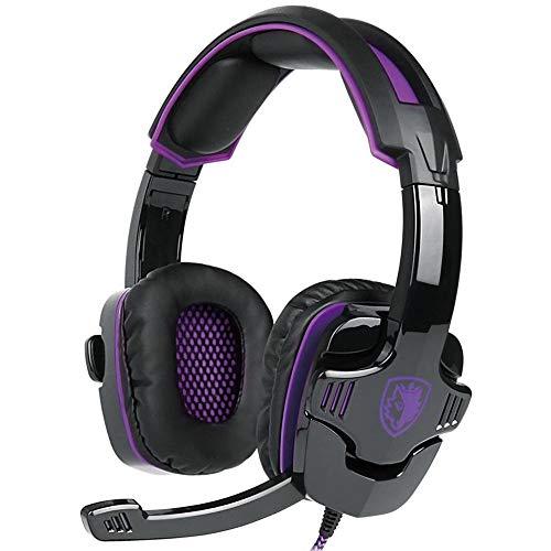 Stheanoo Gaming-Headset mit Mikrofon über Ohr, verkabelt, für Xbox One/PS4/PC/Geräuschreduzierung, langlebige Kabelsteuerung für Gamer - Kunden-service-telefon-nummer