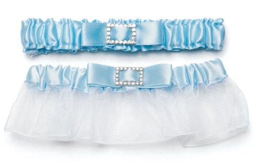 weddingstar-7196-classic-garters-con-escudo-del-algo-azul