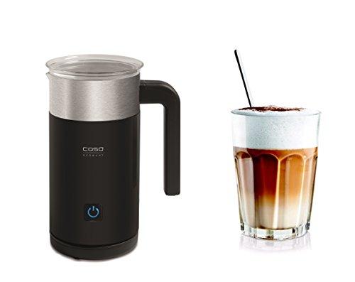 Caso 1658 Crema Grande Jet Design Milchaufschäumer für cremigen Milchschaum kalt und heiß, ideal für Latte Macchiato, Kakao, Cappuccino oder Frappe