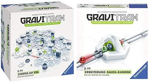 GraviTrax 27615 Starter Set XXL Konstruktionsspielzeug, mehrfarbig & 27594 Gauss Kanone Konstruktionsspielzeug