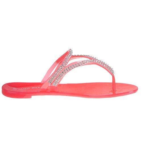 Damen Schuhe, JS-04, SANDALEN Coral