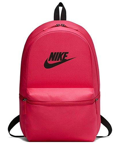 Nike Nk Heritage Bkpk, Mochila Unisex Adultos, (Rush Pink/Black / Blac), 15x24x45 cm (W x H x L)