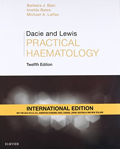 DACIE AND LEWIS PRACTICAL HAEMATOLOTGY 12ED (IE) (PB 2017)