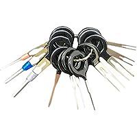 11PCS del coche auto Bloque terminal Extracción recoger una copia de la aguja Mazo de cables del conector Pin Crimp juego de reparación de herramientas