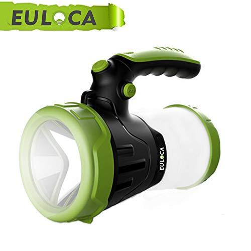 EULOCA Wiederaufladbare CREE LED Handscheinwerfer Wasserdicht Suchscheinwerfer