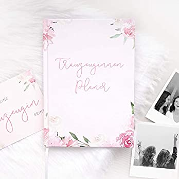Trauzeuginnen-Planer (mit GRATIS Postkarte) | BLUSH | Trauzeugin Geschenk
