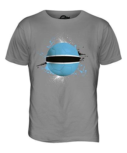 CandyMix Botswana Fußball Herren T Shirt Hellgrau