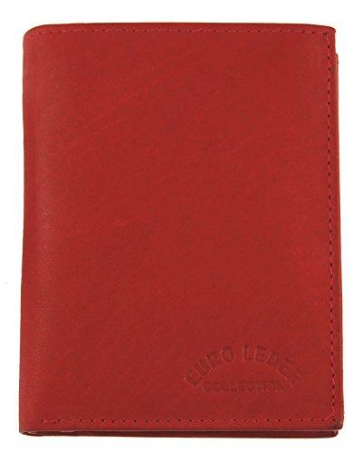 M99 Lederbörse (a TR35Z) Rot, Euro Leder Collection, Geldbörse, Damengeldbörse, Echt Leder, Kleinlederwaren